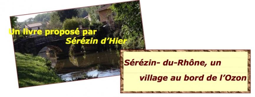 SOUSCRIPTION SEREZIN D'HIER