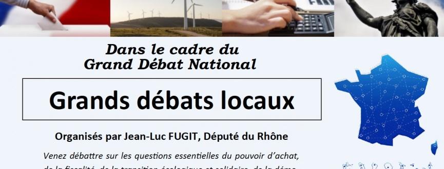 Grand débats locaux