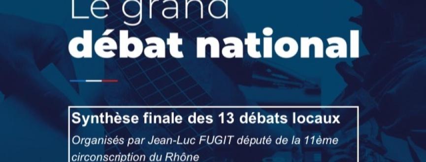 Synthèse débats organisés par Jean-Luc Fugit